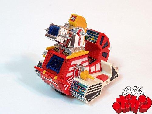 Yattodetaman Daibashinden Base Takatoku Toys